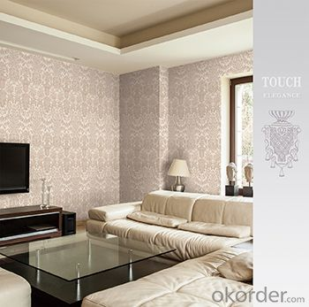 PVC Wallpaper 2015 New Design European Modern Pattern Vinyl  PVC Wallpaper
