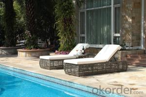 Outdoor Lounge Chair for Hotel/Beach Relaxing