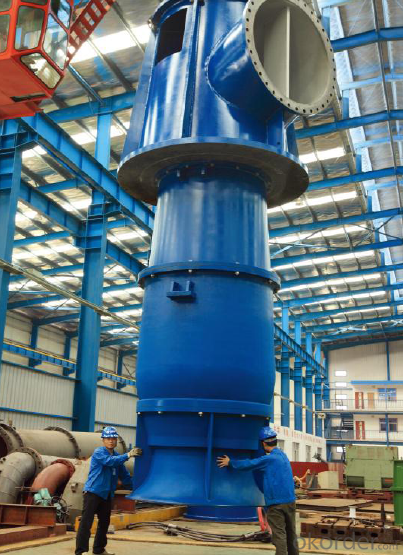 Vertical Mix-flow Turbine Pump(API610 VS6)