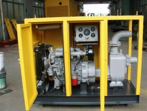 Diesel Driven Self Priming Sewage Water Pump for Irrigation