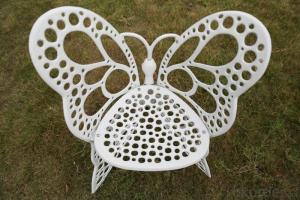 Cast Aluminum Butterfly Garden Dining Set