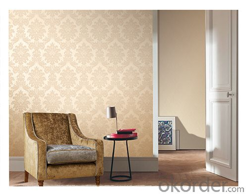 PVC Wallpaper Modern City Style Newest Deep Embossed PVC Wallpaper