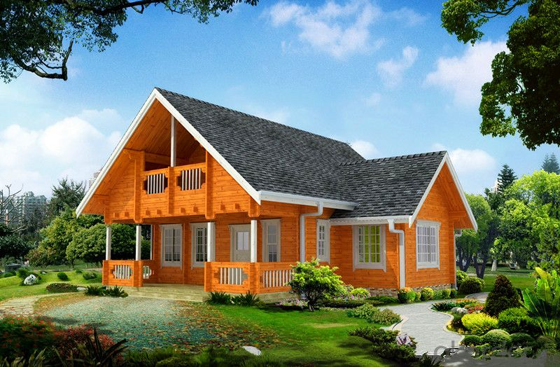 Prefab Wooden Houses for Resort and Holiday with High Quality
