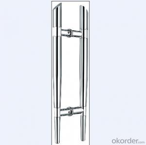Stainless Steel Door Handle for office building glass door/Wooden Door Handle DH104