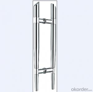 Stainless Steel Glass Door Handle for Bathroom/kitchen room/Shower Room DH105