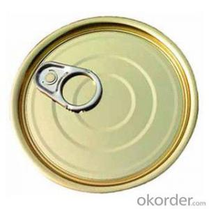 Easy Open End Tuna Can 307#, Aluminum/Tinplate