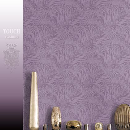 PVC Wallpaper Bright Flower Washable Modern Style PVC Wallpaper