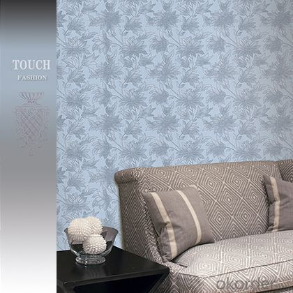 PVC Wallpaper 2015 China Professional Modern Style New PVC Wallpaper Supplier