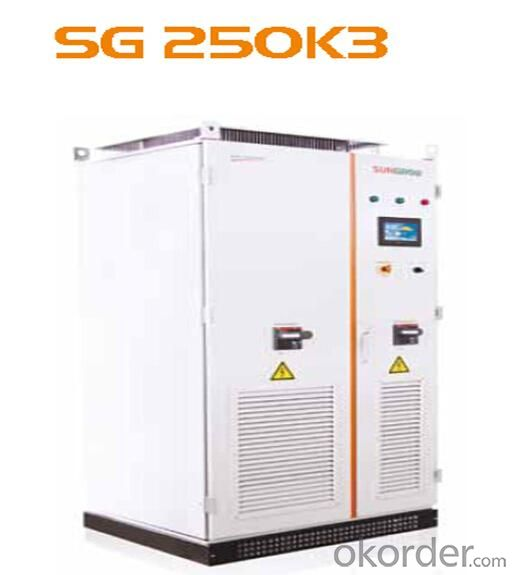 Photovoltaic Grid-Connected Inverters SG250K3