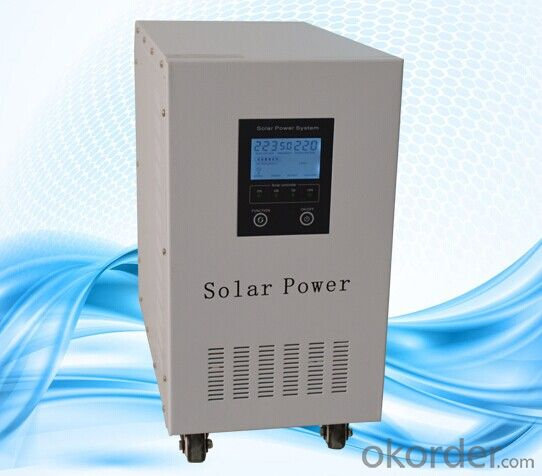 High Frequeny 4000W 5000W Solar Panel Inverter for Home Use