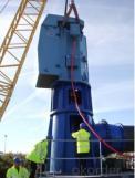 Bomba de turbina vertical de flujo mixto (API610 VS6)