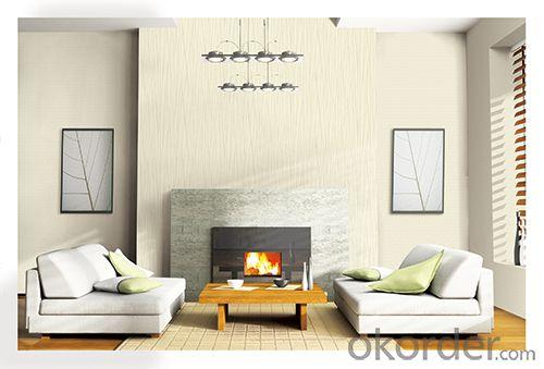 PVC Wallpaper Simple Modern Designs Waterproof Country Decorative PVC Wallpaper
