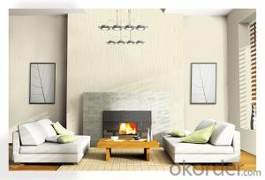 PVC Wallpaper Modern City Style Engineering PVC Wallpaper for Home Decoration