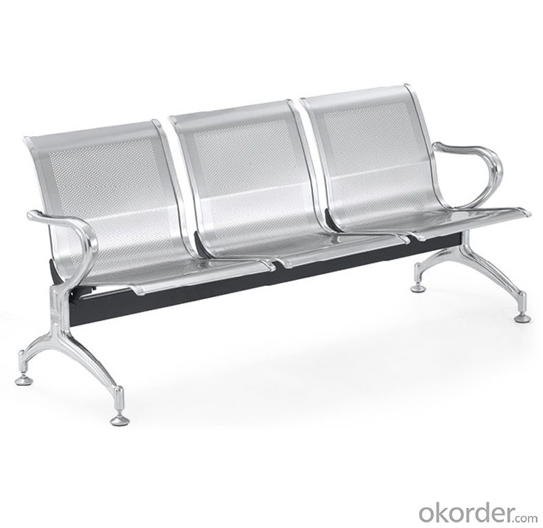KXF- Stainless Steel Public Waiting Chair for Hospital and Bus Waiting Room