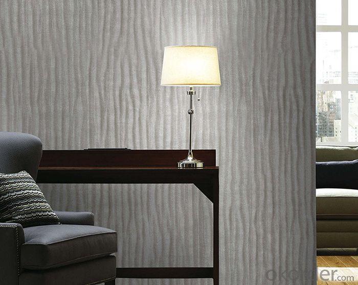 PVC Wallpaper Modern Style  Waterproof PVC Wallpaper for Bedroom Use
