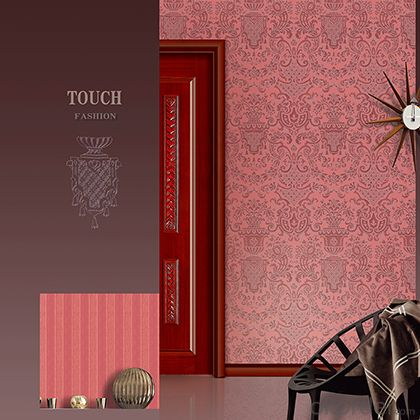 Buy pvc wallpaper hot selling waterproof pvc wallpaper for Selling wallpaper