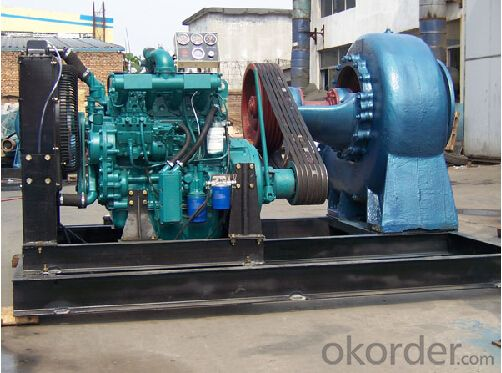 Horizontal Axial/Mixed Flow Water Pump for Pump Station
