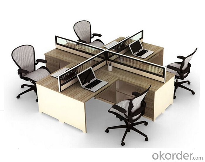 Office Workstation Office Desk MDF with Melamine