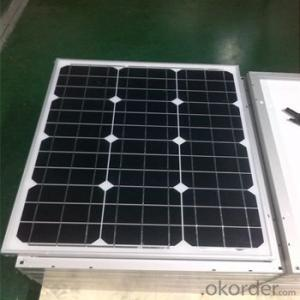 Monocrystalline Solar Panels-50w CNBM Series