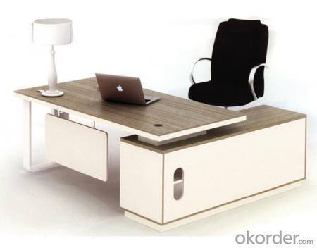 Office Furniture Commercial Desk MDF with Melamine