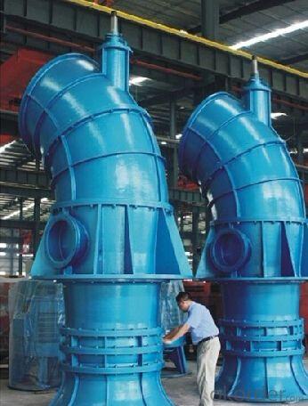 Big Capacity Axial-Flow/Mixed-Flow Submersible Water Pump