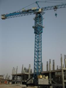 12T Loading Capacity Tower Crane TC7034-F-52.4