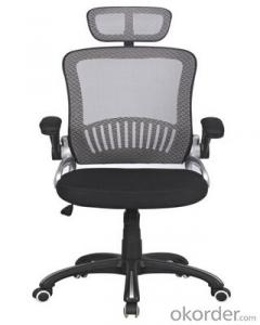 Office Style Mesh Chair with PP Arms and Adjustable Height