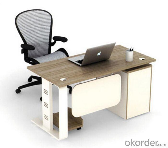 Compre escritorio de oficina en material mdf para for Precio mobiliario oficina