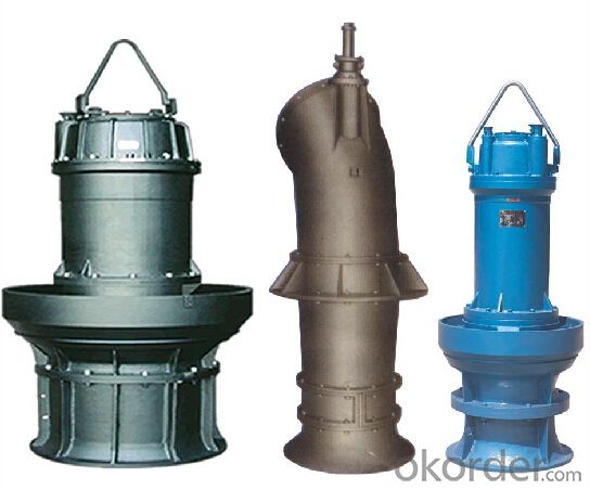 Vertical Mixed-Flow Submersible Water Pump