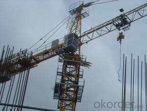Max Loading Capacity 10T Tower crane TC6024