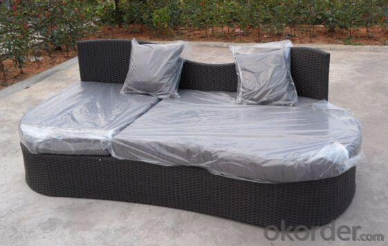Patio Rattan Table Sofa for Wicker Outdoor Chair Garden