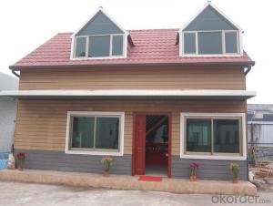 Light Steel Structure Prefabricated House Fiber Glass Thermal Insulation Fiber Cement Board