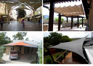 -Playground  Awining Shade Sail and for House or Playground Kindergarden