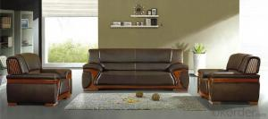 Office Leather Sofa Set 311 Seat PU Material