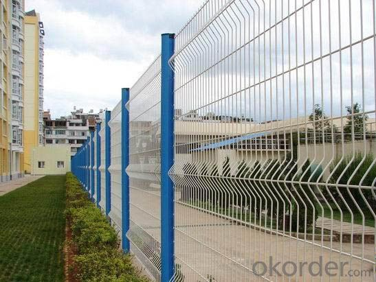Construction Protction Hot Dip Galvanized Welded Wiremesh Fence