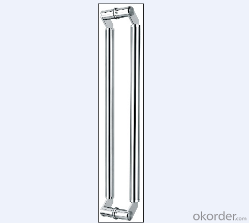 Stainless Steel Glass Door Handle for Bathroom/Shower Room with Modern Type on Hot Sales DH133
