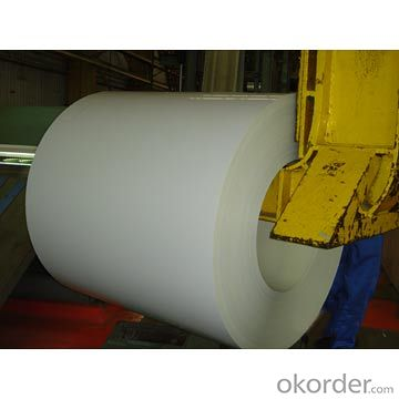 Color Coated Galvanized Steel Coil  PPGI in White