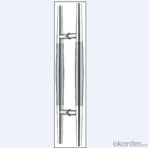 Stainless Steel Glass Door Handle for Bathroom/Shower Room for Housing DecorativeDH113