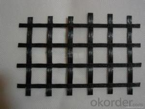 Superior Quality Fiberglass Geogrid With Asphalt