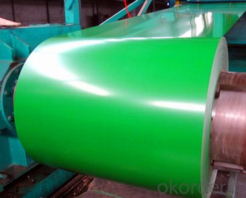 Color Coated Galvanized Steel Coil  PPGI in Green