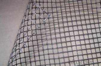 Pvc Coated Polyester Geogrids For Highway With Ce Certificates