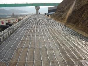 Plastic Polypropylene Biaxial Geogrid Used on Road Reinforce