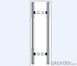 Stainless Steel Glass Door Handle for Bathroom/Shower Room with popular SyleDH127