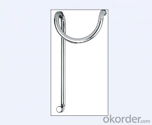 Stainless Steel Glass Door Handle for Bathroom/Shower Room for Office Building DH121