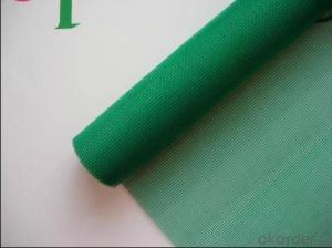 Fiberglass Mosquitoes Plain Mesh in Green