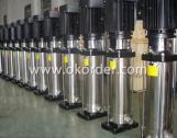 Bomba de agua centrífuga vertical multietapa CDL
