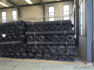 Geogrid with High Tensile Strength Warp Knitted for  Earthwork Products