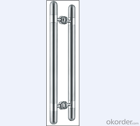Stainless Steel Glass Door Handle for Bathroom/Shower Room with Best Quality/On Hot Sales DH110