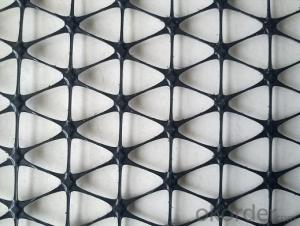 High Tensile Strength Polyester Geogrid Used on Road Reinforce