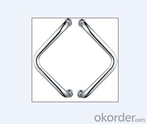 Stainless Steel Glass Door Handle for Bathroom/Shower Room DH119